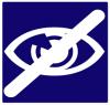 Logo handicap visuel
