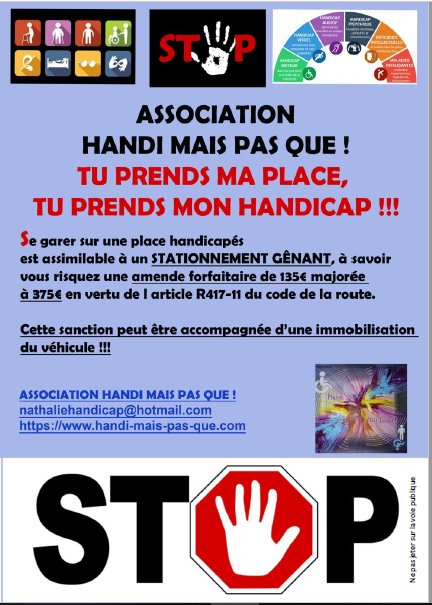 Photo flyer tu prends ma place sept 2019