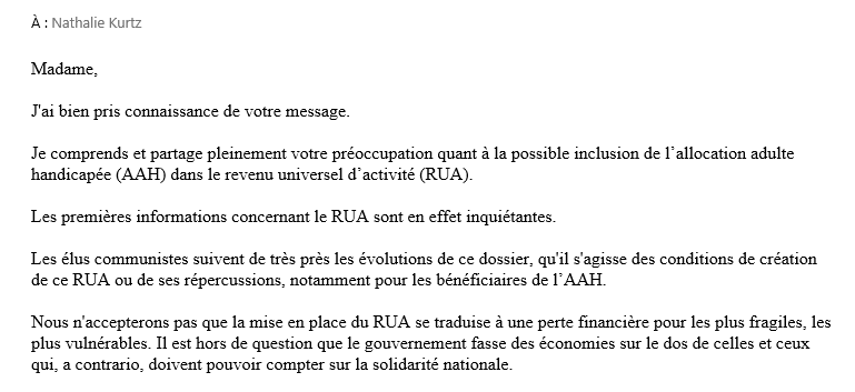 Reponse depute roussel 1