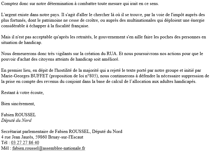 Reponse depute roussel 2